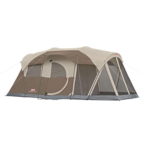 Coleman Sundome Hinged Door 4-Person Tent with Dark Room Technology