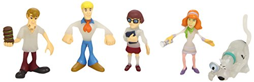 Scooby Doo (Giochi Preziosi 03437) - Mystery Mates, blíster de 5 figuras (surtido: modelos aleatorios)