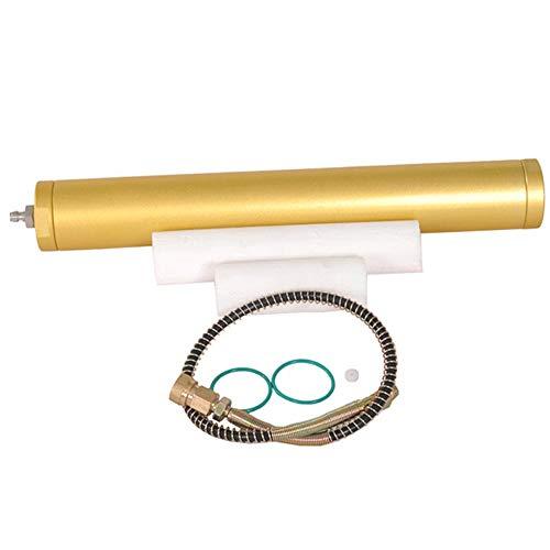 Fesjoy Compresor de Aire de Alta presión PCP,Separador de Buceo con Filtro de Agua y Aceite de 4500 PSI 300bar 30Mpa L350mm * OD50mm Compresor de Aire