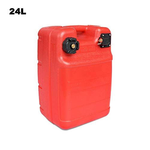 evergremmi Sehr handlicher Treibstofftank Benzintank,Außenbordertank 12L/24L Liter,Handlicher Benzintank, Tank Außenborder