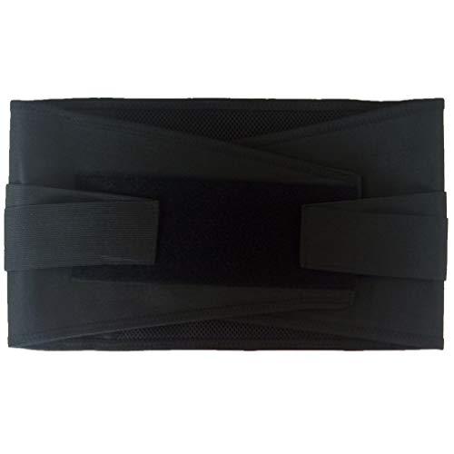HETUI Práctica Correa de Pecho para cirugía torácica Abierta con fijación de cinturón Costal médico (Negro, M)