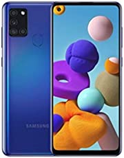 """Smartphone Samsung A21s 128gb Blue 6.5"""" 3gb/128gb Dual Sim"""