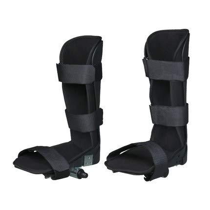 NACHEN Soporte para piernas para Bicicleta de Ejercicio eléctrica motorizada/ejercitador de Pedales, Abrazadera de fijación de extremidades Inferiores para rehabilitación, férula de Entrenador, 1 par