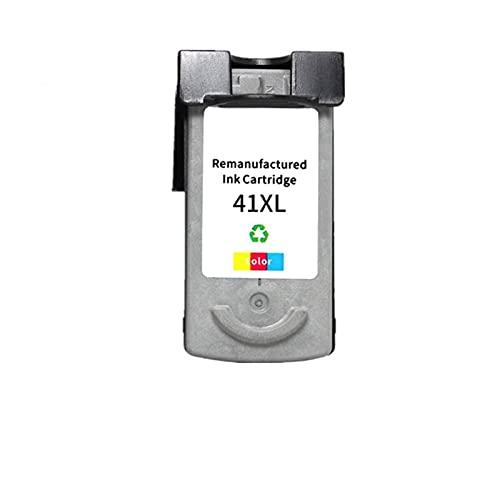 JRUIAN Accesorios de Impresora Cartucho de Tinta Compatible PG-40 CL-41 PG40 CL41 Apto para Impresora Canon Pixma MP140 MP150 MP160 MP180 MP190 MP210 MP220 MP450 MP470. (Color : 1PCS Color)