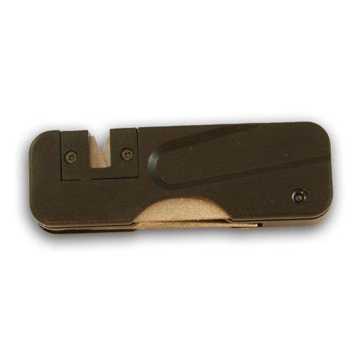 Knives of Alaska 00396FG 3-Way Sharpener, Black