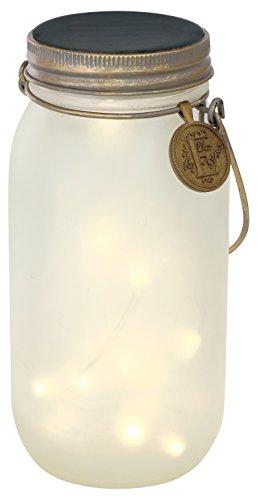 ボトル型ガーデンソーラーライト エトワル L Frost・KL-10339