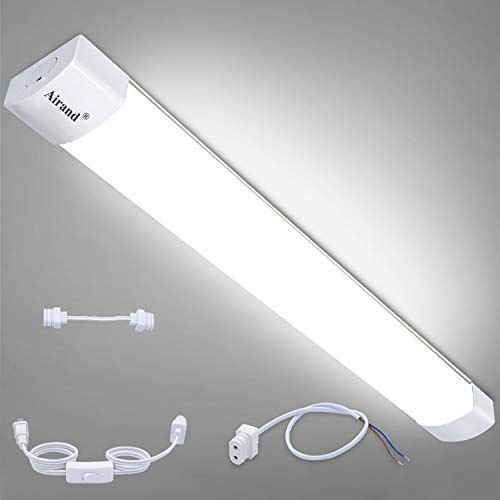 Ceiling Lights LED Plug in Airand 2ft Flushmount LED Tube...