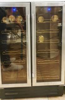 Recipiente de vino, 36 botellas dobles, completos (recogida de clientes)