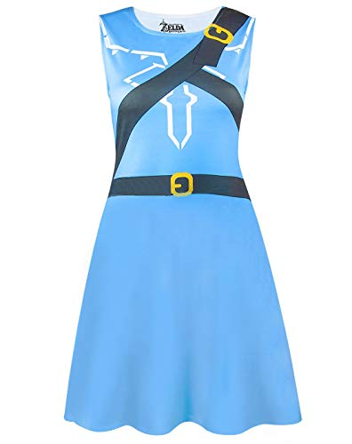 ZELDA The Legend of Breath of The Wild Costume Dress