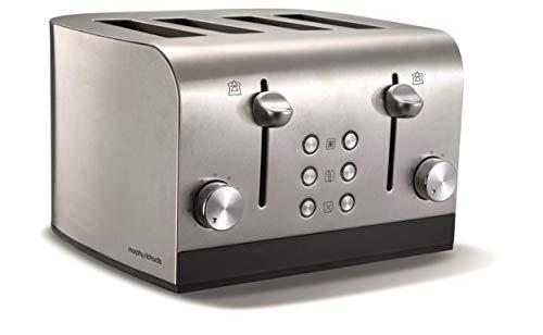 Morphy Richards Equip 4 Scheiben Toaster 241001 in Edelstahl