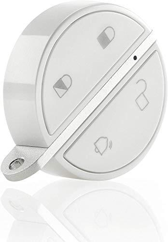 Somfy 2401489 Keyfob Protect - Mando a distancia, controla de forma inteligente tu alarma Somfy Protect, compatible con Somfy Home y Somfy One, One+