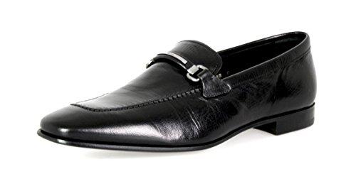 Prada Herren Schwarz Leder Business Schuhe 2DB082 42 EU/UK 8