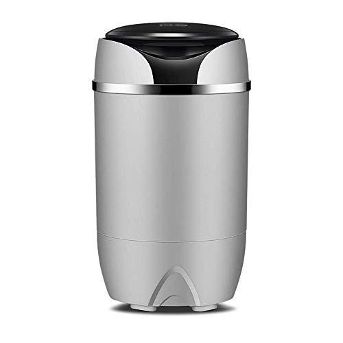 WCJ Mini wasmachine, draagbare compacte wasmachine geluidsarm bedrijf wassen dehydratie 5kg, vermogen 170W, afmetingen: 340 * 340 * 580mm