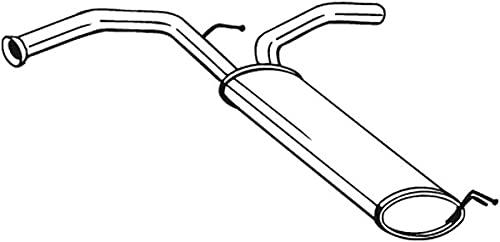 Bosal 135-721 Silencieux arrière