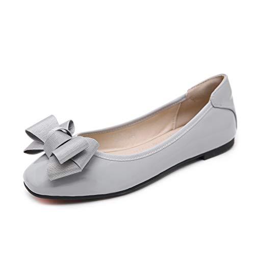 Bailarinas para Mujer, Morbuy Zapatos Bailarinas Básicas Planas de Mujer Zapatos de Primavera Verano Otoño Estilo Bowknot