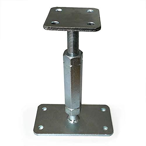 P-Pfostenträger verstellbar Typ P für Höhe 140-200 mm von Gartenpirat®