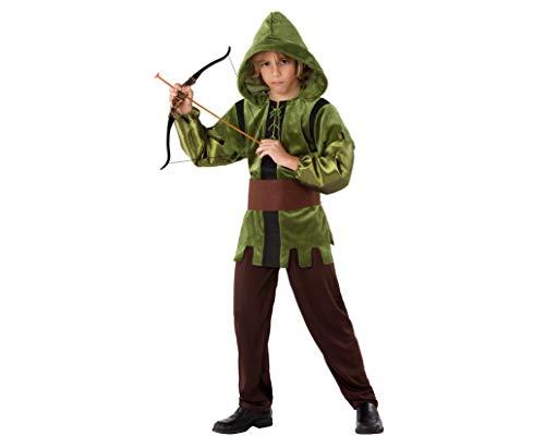 Atosa-61499 Atosa-61499-Disfraz Arquero-Infantil NIño, Color verde, 5 a 6 años (61499