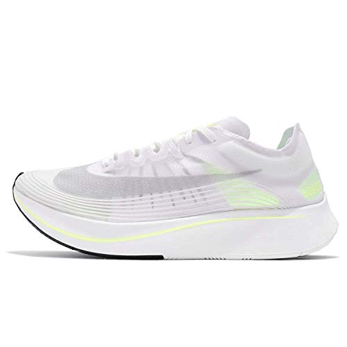 Nike Zoom Fly SP Herren Running Trainers AJ9282 Sneakers Schuhe (UK 9.5 US 10.5 EU 44.5, White Volt Glow Summit White 107)