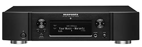 Marantz NA6006 Netzwerk-Audioplayer (WLAN, HEOS, Multiroom, Musikstreaming, Internetradio, Bluetooth, Hi-Res Audio, AirPlay 2, HDAM, optischer Digitaleingang, analoge Ausgänge) Schwarz