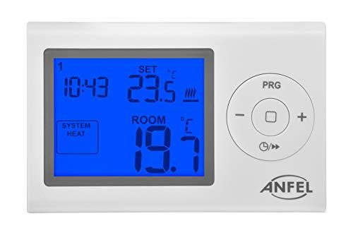 termostato wifi estate inverno PP1466A Cronotermostato Digitale EASY Estate/Inverno con programmazione giornaliera/settimanale DISPLAY GRANDE 3
