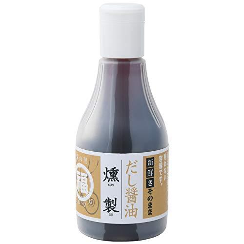 丸福醤油 燻製だし醤油 200ml