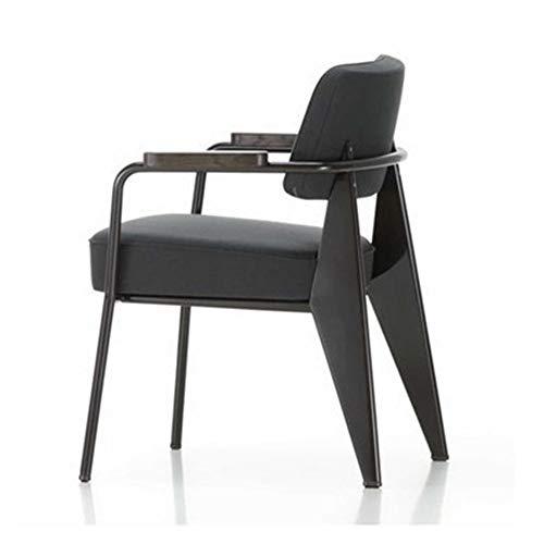 Bureaustoel, industriële stijl, bureaustoel, bureaustoel, bureaustoel, bureaustoel, linnen, zwart