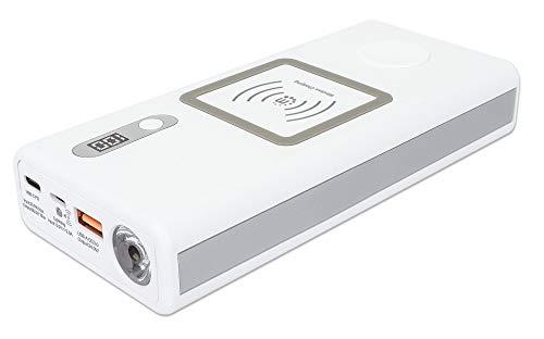 MANHATTAN PowerBank mit Power Dell / 60 W USB-C/USB-A, 20.000 mAh, 2 x kabellos