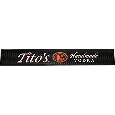 Tito's Vodka Rail Runner Bar Drip Mat