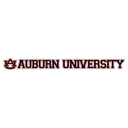 "Craftique Auburn Tigers Decal (AU Auburn University Decal (19""), 19"")"