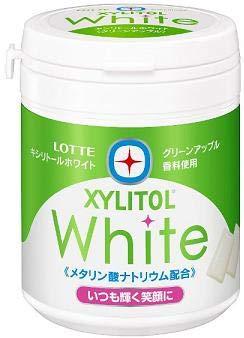 ロッテ キシリホワイトグリーンアップルファミリーボトル 143g×6個入