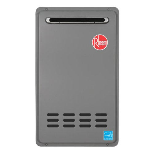 Rheem RTG-64XLP 6.4 GPM Low NOx Outdoor Tankless Propane Water Heater