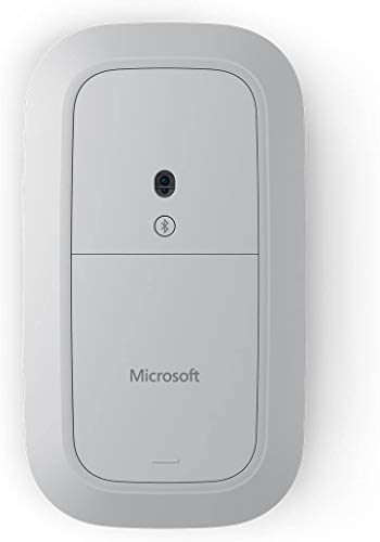 Microsoft Modern Mouse (außergewöhnliche Genauigkeit und Präzision) silber