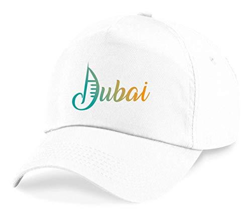 Druckerlebnis24 Cap - Dubai Urlaub Emirate Ferien - Basecap für Herren - Damen und Kinder