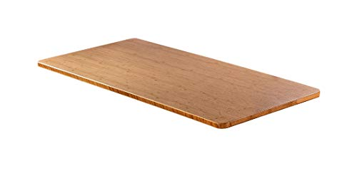 - AGIL - Bambus Massivholztischplatte für ergonomische Schreibtische - 140 x 70 x 2,5 cm - Passend für elektrisch stufenlos höhenverstellbare Schreibtische - für Kinder und Erwachsene -