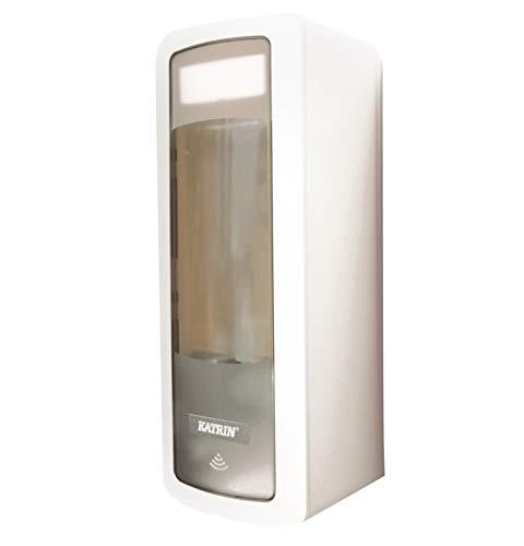 Touchfree Seifenspender 500 ml, weiß, für berührungsloses Händewaschen, Katrin #44672