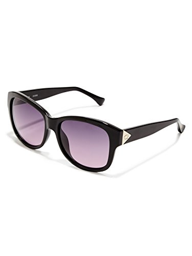 Guess GF025901Z56 GF025901Z56 Groß Sonnenbrille 52, Schwarz