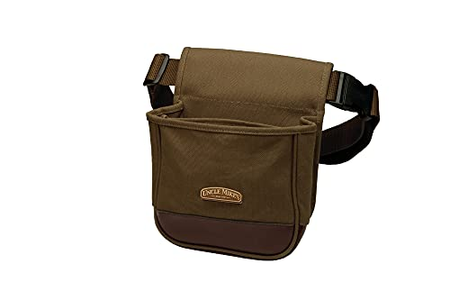 Uncle Mike's Deluxe Canvas Shell Pouch (Brown, One Size)