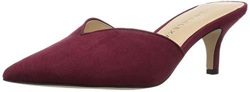 Athena Alexander Women's Jasper Heeled Sandal, Wine Suede, 5 M US