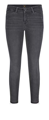 MAC Jeans Dream Chic Vaqueros Slim, Gris (Dark Grey Used Wash D975), W24/L27 (Talla del Fabricante: 32/27) para Mujer