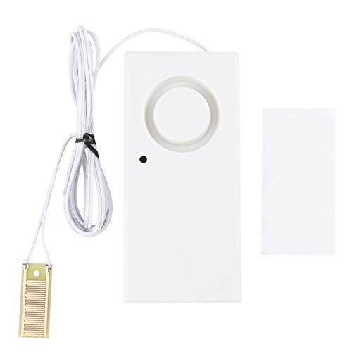 Detector de agua Sensor de agua 120dB Sensor de desbordamiento Detector Sistema de alarma de fugas de agua para pecera de cocina