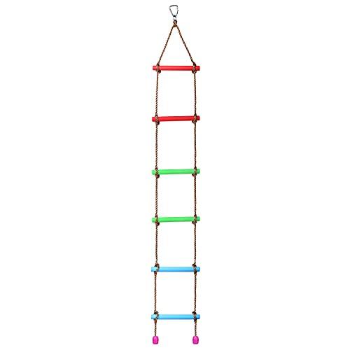 BIGLUFU Escalera de Escalada para niños...