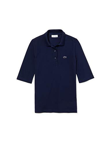 Lacoste Damen Poloshirt Kurzarm Marine (52) 36