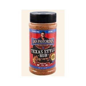 Dan Pastorini's Texas Style Rub 12.5oz Bottle (Pack of 3) Select Flavor Below (Original)