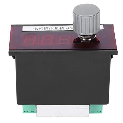 Generador de señales de corriente, generador de corriente anti-ESD ajustable, prueba de instrumentos Depuración del PLC para el ajuste de la válvula de control del inversor