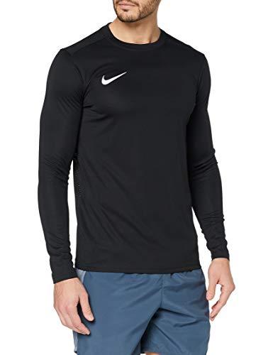 Nike Herren Langarm-Trikot Dry Park VII, Black/White, L, BV6706-010