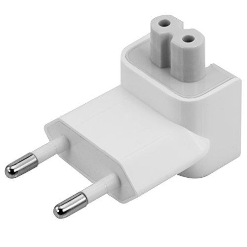 kwmobile EU 2 Pin Duckhead Adapter kompatibel mit Apple iPad 10W und 12W und MacBook Magsafe 1 und 2 Ladegeräte Power Adapter - Power Plug