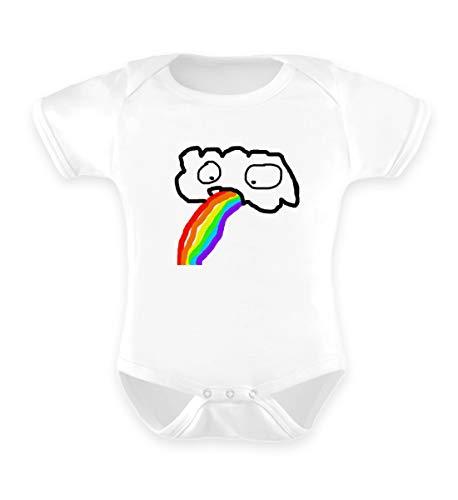 double critical Lustige kotzende Wolke - Regenbogen JGA Junggesellenabschied Gay Pride CSD - Baby Body