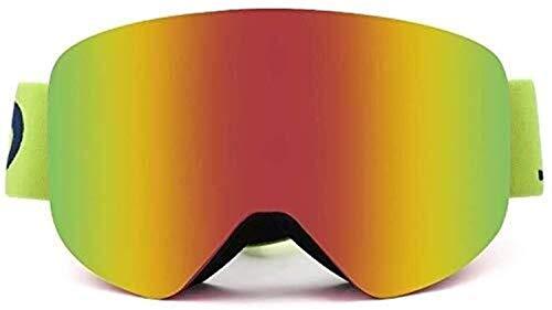 HYY-YY Skibrille für Ski, Brille, mit Kugeln, Antifog, doppelter Wechsel, Sonnenbrille, Snowmobile Del Motorrad, Basketball, Fußball, OCC, C