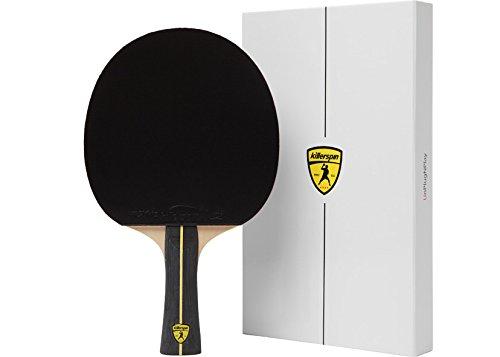 Killerspin Jet Tischtennisschläger Ping Pong Racket, Black, S