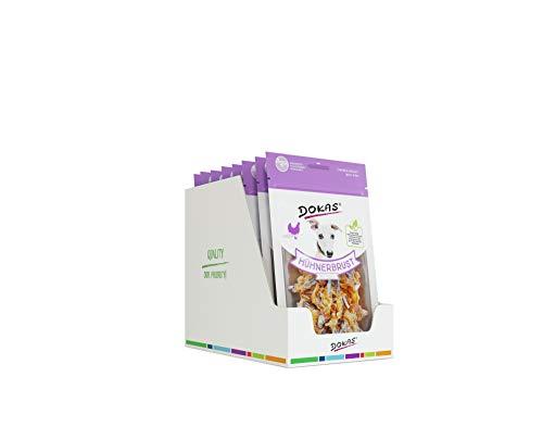 Dokas Snack Premium sans céréales avec Poulet et Poisson pour Chien – Idéal pour Les Repas Entre Les Temps